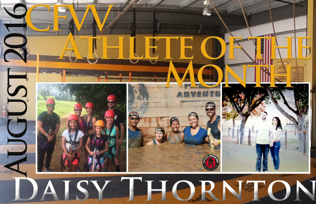 Athlete of the Month CFVV Daisy