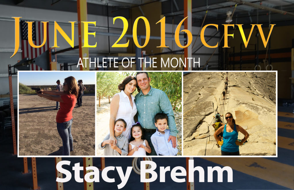 Athlete of the Month Widget stacy