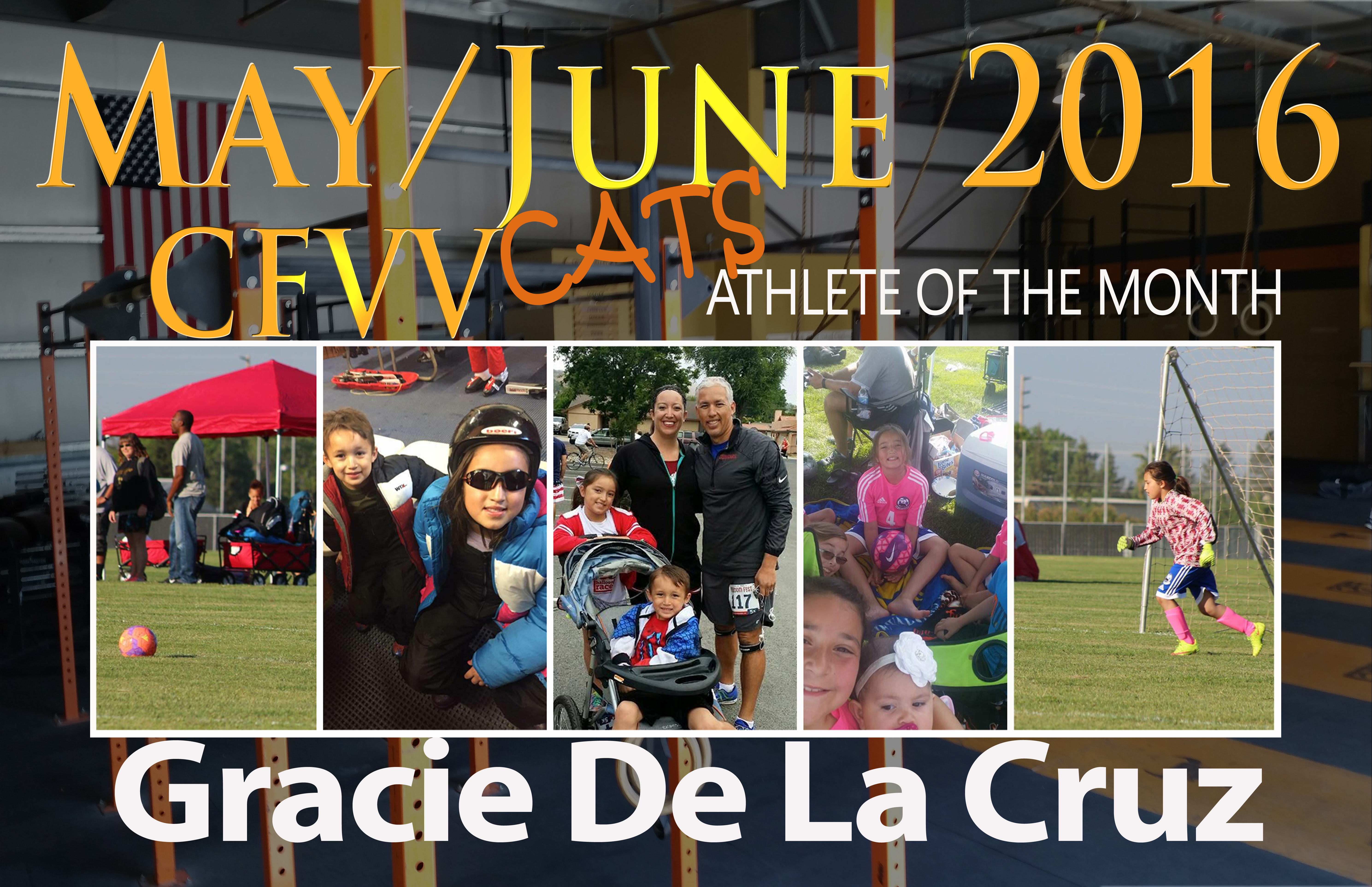 Athlete of the Month Widget Gracie D